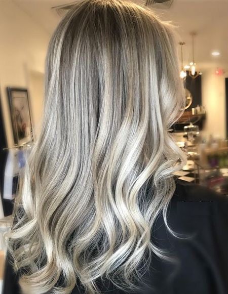Spring Season Color Ideas For Medium Hairstyles 2018 Ash Blonde