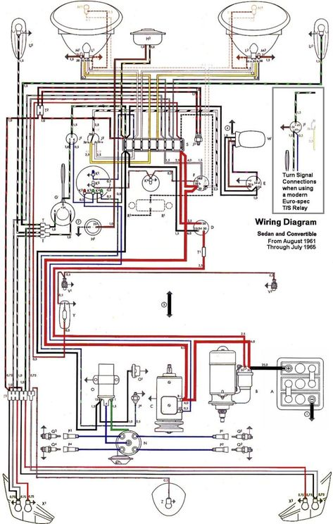 1966 1967 1968 1969 vw karmann ghia wiring diagram thesamba com beetle late model