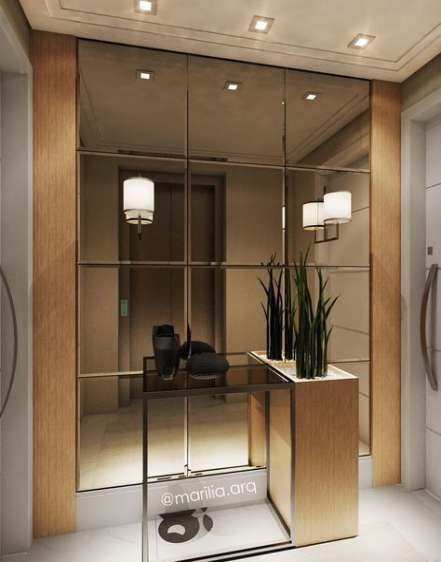 54 Ideas Apartment Building Entrance Hall Mirror Apartment