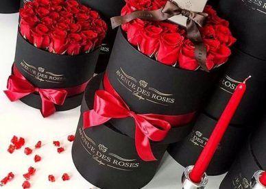 صور ورد حب جميل جدا وأحلى صور أزهار جميلة رومانسية عالم الصور Luxury Flowers Valentines Flowers Flower Box Gift