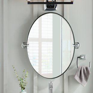 Astoria Grand Haight Rose Accent Mirror In 2020 Single Bathroom