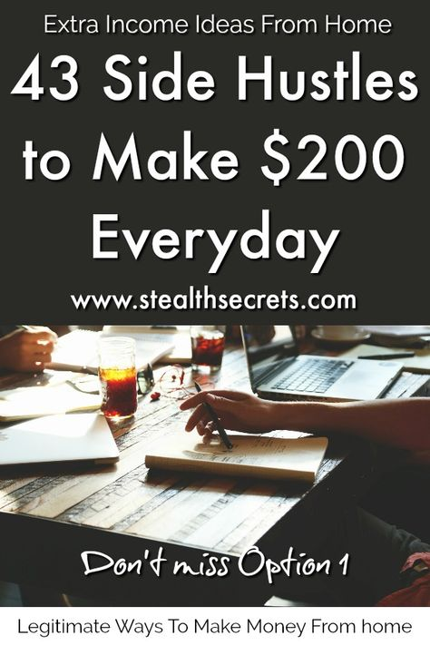 43 Legitimate Ways To Make Money From Home