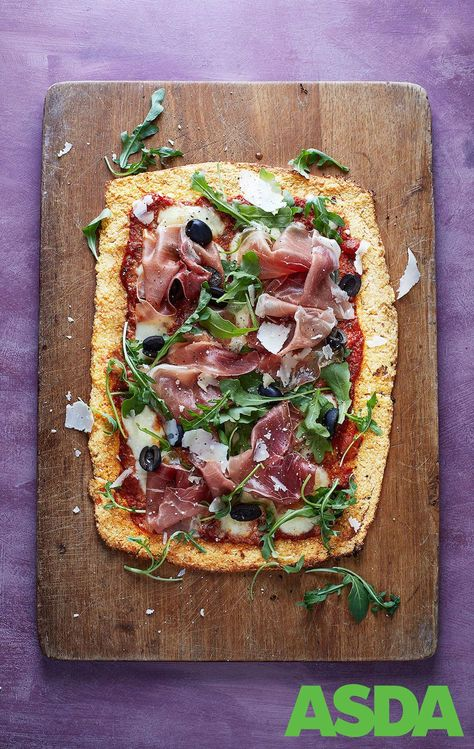 Pizza With Celeriac Base