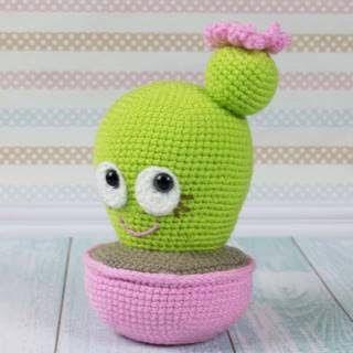 Amigurumi Cactus Kawaii crochet (Subtitulos Español) - YouTube | 320x320