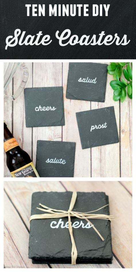Easy DIY Coasters to Make in 10 Minutes