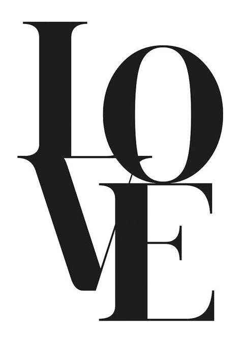 Love Poster Love Wall Art Love Print Printable Art by FroileinJuno - #Art #FroileinJuno #love #Poster #Print #Printable #wall