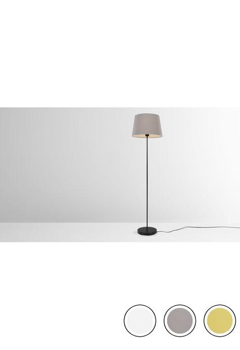 MADE Taupe Floor lamp   Metal floor, Floor lamp, Flooring