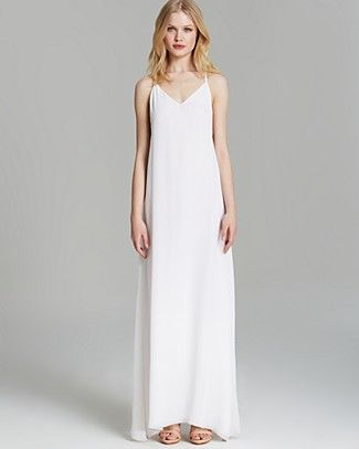 Alice   Olivia Maxi Dress - Dove Relaxed | Bloomingdale's ...
