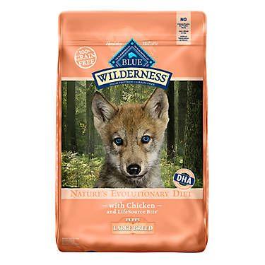 Blue Buffalo Wilderness Large Breed Puppy Food Grain Free