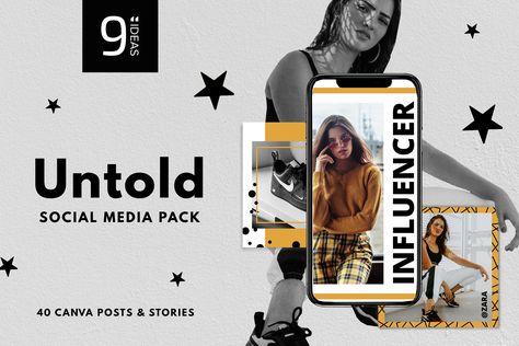 CANVA | Untold Social Media Pack