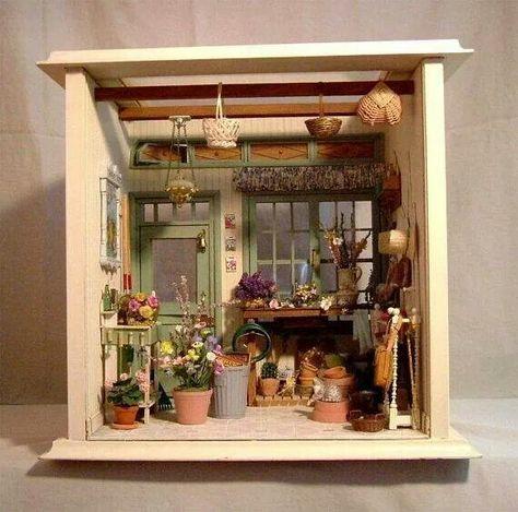 Échelle 1:12 Tuyau de Outdoor Tap /& mur montage Dolls House Garden
