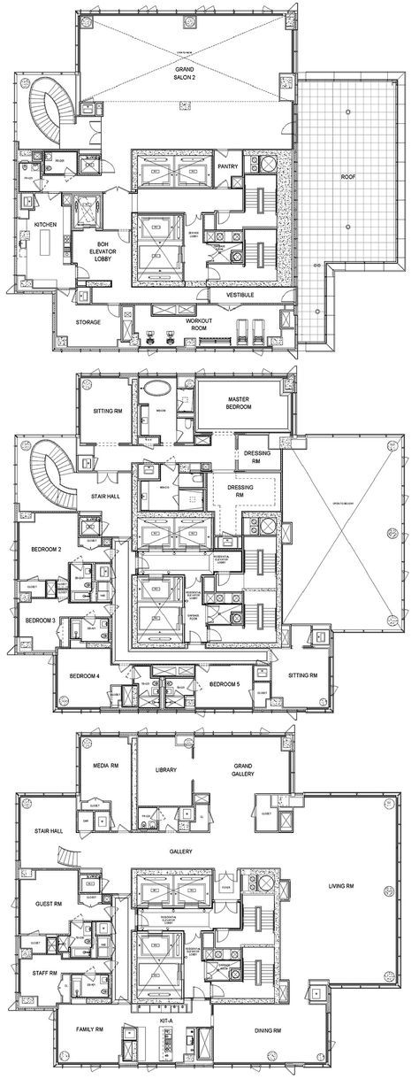 61 Best Ideas For Apartment Luxury Penthouses Floor Plans Luxury Penthouse Penthouse Apartment Floor Plan Apartment Floor Plans