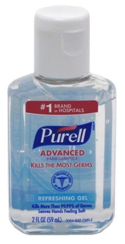 Purell Instant Hand Sanitizer 2 Ounce Pack Of 6 Hand