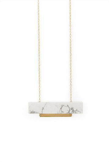 Necklace Country Road - Marble Necklace More -