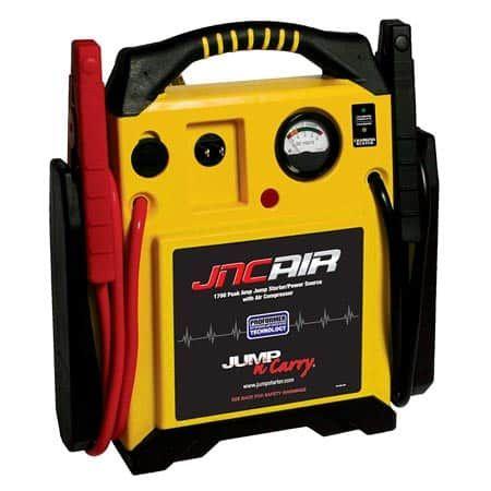"LED Light! Jump N Carry JNC770R 1700 Amp 12V Jump Box 68/"" Welding Cable"