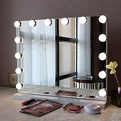 Amazon Com Fenair Makeup Vanity Mirror With Lights Usb Outlet For Mobile Phone Hollywood Mir In 2020 Makeup Vanity Mirror With Lights Mirror With Lights Vanity Mirror