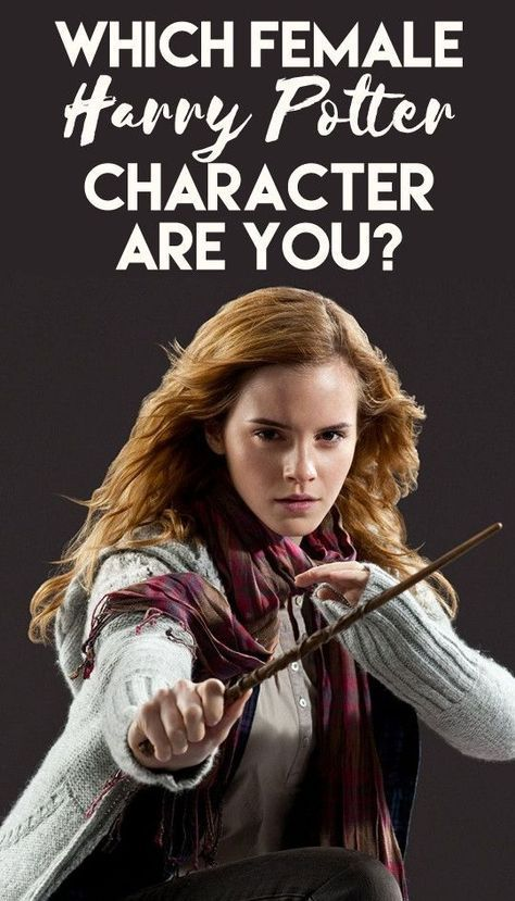 Which Female Harry Potter Character Are You Female Harry Potter Harry Potter Characters Harry Potter Buzzfeed