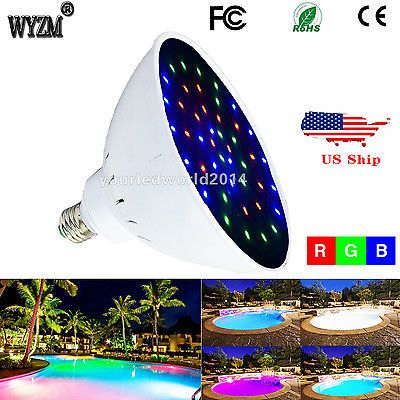 120v 35w Color Changing Swimming Pool Led Light Bulb Lamp For Pentair Hayward Led Pool Lighting Swimming Pool Lights Pool Light
