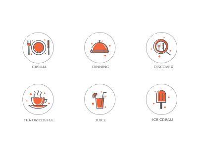 Restaurant App Icons V 2020 G