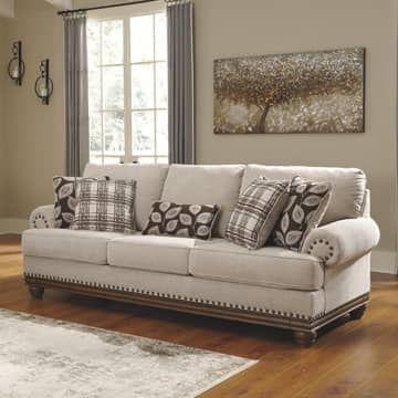 Ashley Harleson Sofa 3 Dudukan Krem Terbaik Informa Sofa Furniture Ashley Furniture Upholstered Sofa