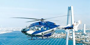 Helicopters - Air | Kawasaki Heavy Industries, Ltd.