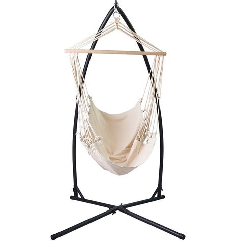 Al Fresco St Tropez Hanging Chair And Cushion Design Garden Jago Hsel01 Amazon Co Uk Outdoors
