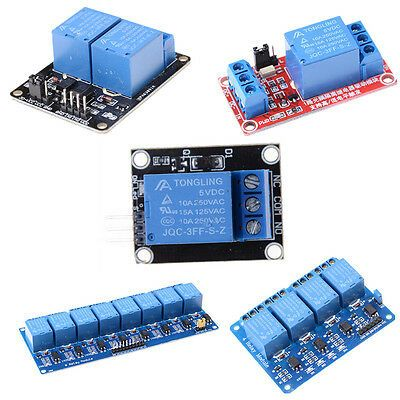 Ad Ebay 5v 1 2 4 8 Channel Relay Board Module Optocoupler Led For Arduino Pic Arm Avrr8d In 2020 Arduino Relay Led