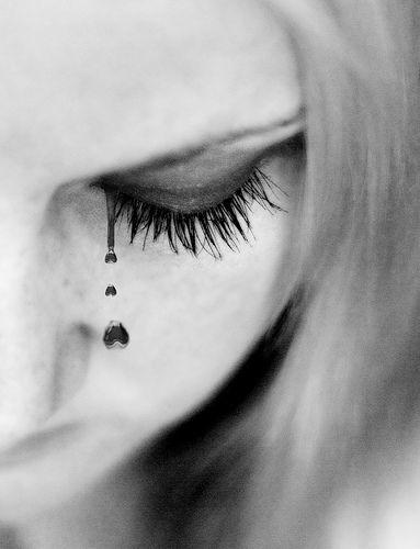 Black Tears Tears Behind Ear Tattoo Too Much Makeup