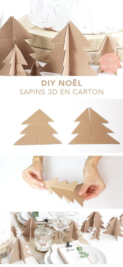 DIY XMAS : Decorate your table whitout spending a money!   DIY DE NOEL : Décorez votre table sans dépenser d'argent