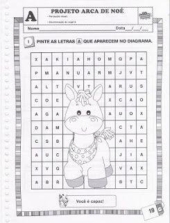 Bauzinho Da Web Bau Da Web Projeto Arca De Noe Com Atividades