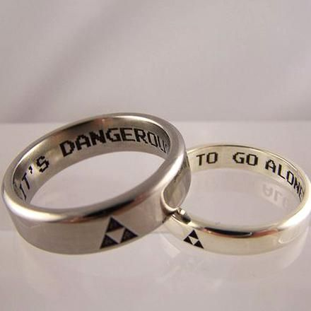 Pin By Lisa Merriam On Our Wedding In 2020 Nerd Wedding Rings Geek Wedding Rings Cool Wedding Rings