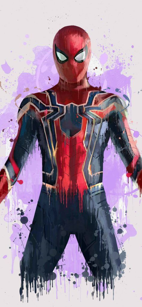 Iphone X Wallpaper Screensaver Background 176 Spiderman 4k Ultra Hd Spiderman Art Marvel Spiderman Iron Spider Suit