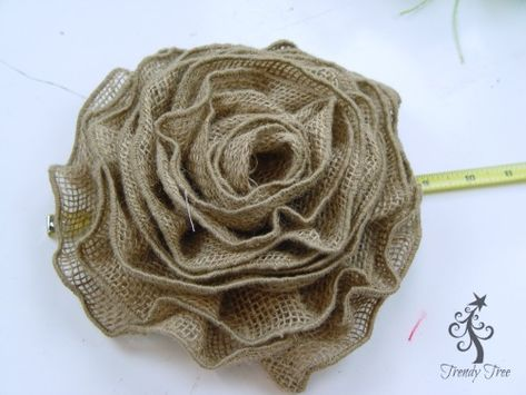 Sunflower Wreath With Ribbon Rose Center Tutorial | Sunflower Wreaths,  Ribbon Rose And Sunflowers