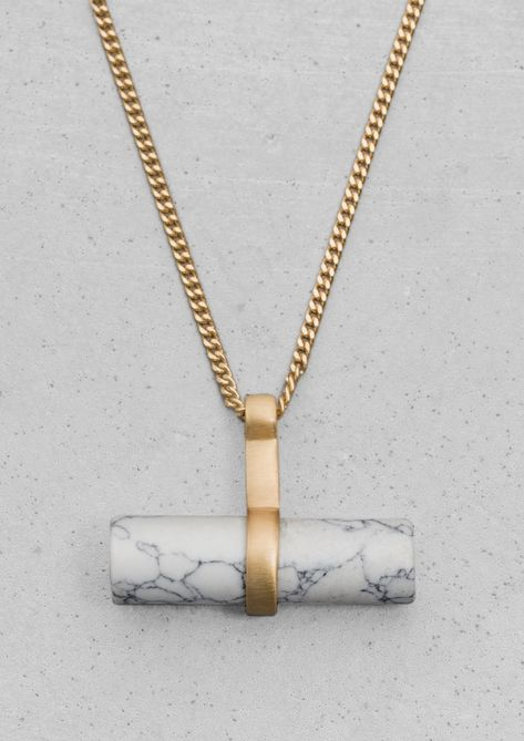 Stone Bar Necklace | Stone Bar Necklace | & Other Stories
