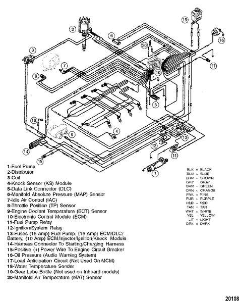 Mercruiser Bravo 1 Diagram Manuals