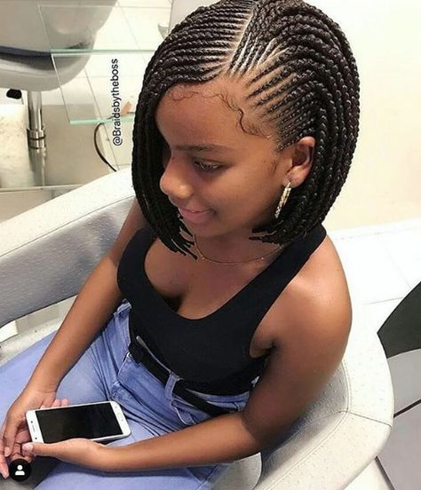 12 Braided Bob Styles That Will Have You Drooling Black Hair