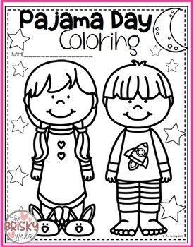 Pajama Day Activities By The Brisky Girls Teachers Pay Teachers Pajama Day Pajama Day At School Pajama Party Kids