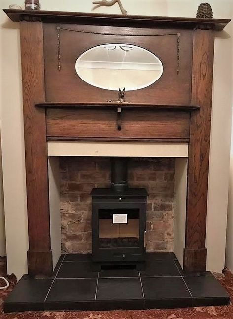 Old And New Antique Surround Multifuel Stove Stove Multifuelstove Fireplaces Woodburners Antiquesurroyund Edwar In 2020 Stoves For Sale Multi Fuel Stove
