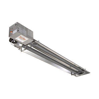 Sunstar Heating Products Garage Tube Heater Lp 25000 Btu Model Spaceheaterideas Garage Heater Natural Gas Garage Heater Radiant Heaters