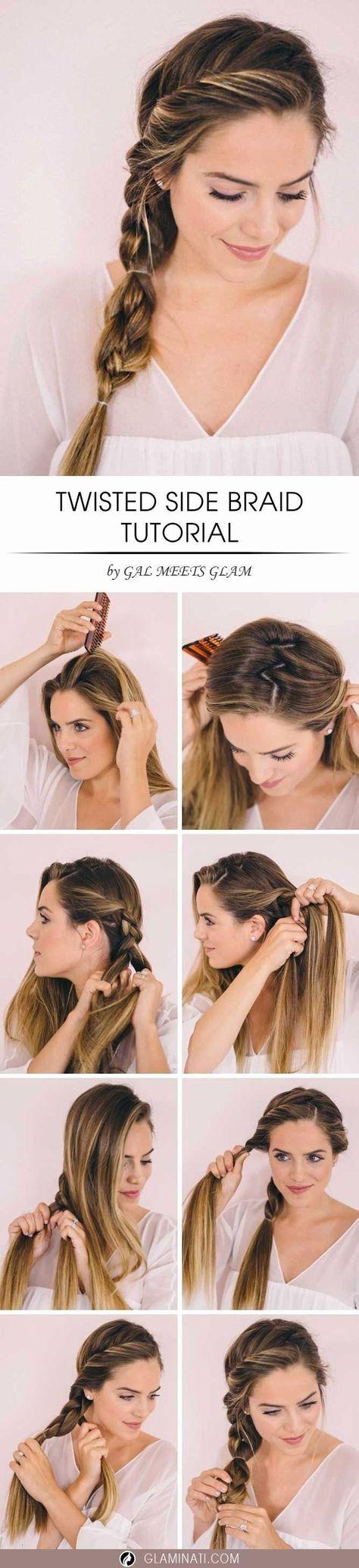 Schnelle frisuren zusammengebunden – Beliebte Frisuren 2020
