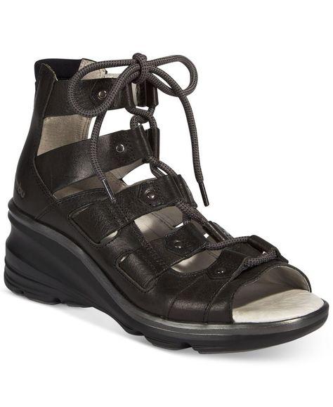 Jambu Womens Milano Wedge Sandal