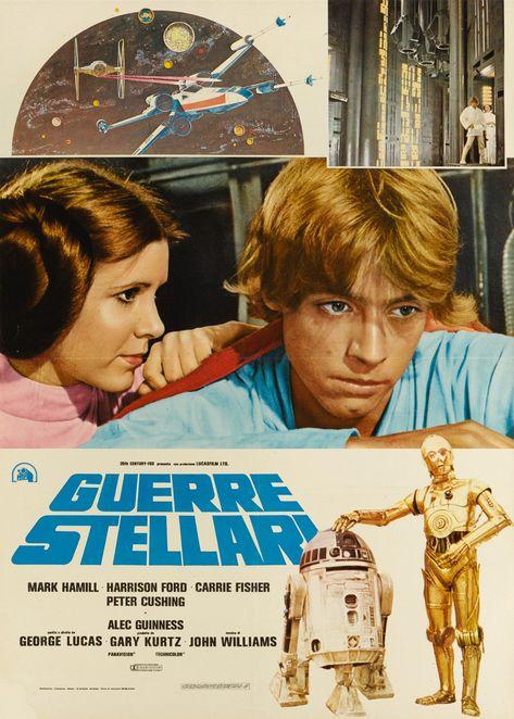 STAR WARS / GUERRE STELLARI, ITALIAN POSTER, 1977 | Star Wars Online2019 | Sotheby's
