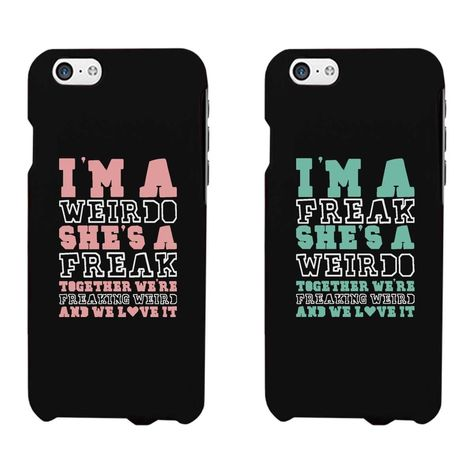 Funny BFF Phone Cases Freak and Weirdo Phone Covers for Apple Iphone Iphon . - Funny BFF Phone Cases Freak and Weirdo Phone Covers for Apple Iphone Iphone … -