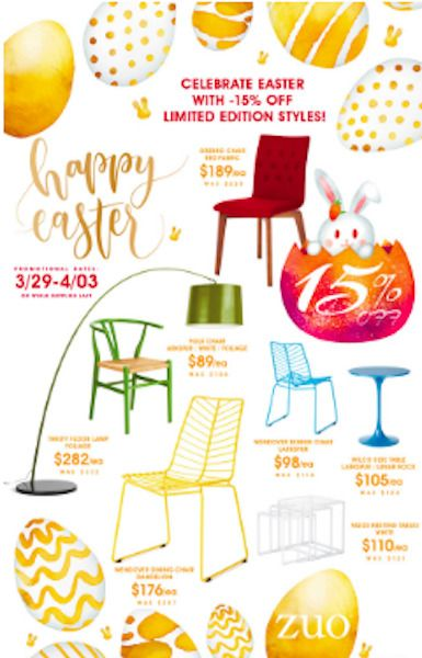 Outstanding Easter Sale Zuo Modern Indoor Outdoor Dining Chairs Home Complete Home Design Collection Epsylindsey Bellcom