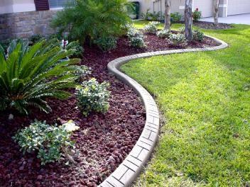 Chesapeake Custom Curbs LLC Decorative Concrete Curbing Ashlar - Design continuous free form concrete landscape edging by kwik kerb