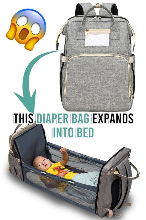👶🏼2-In-1 Expanding Nursing Diaper Bag🍼 The Babys, Baby Life Hacks, Diaper Backpack, Baby Diaper Bags, Diaper Babies, Diy Bebe, Baby Gadgets, Baby Necessities, Everything Baby