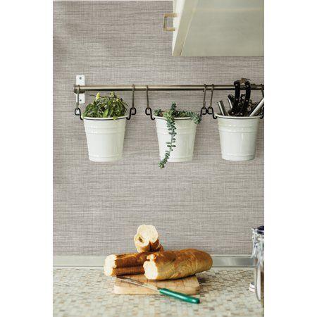 Inhome Grasscloth Peel Stick Wallpaper Walmart Com Peel And Stick Wallpaper Grasscloth Peal And Stick Wallpaper