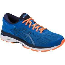 Asics Gel Kayano 24 blau/orange Laufschuhe Herren Asics in ...