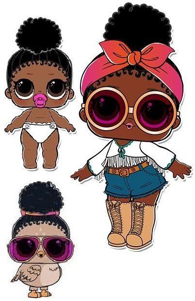 Pin By Irma Loza On L O L Dolls Lol Dolls Diy Crafts For Girls Cute Kawaii Drawings