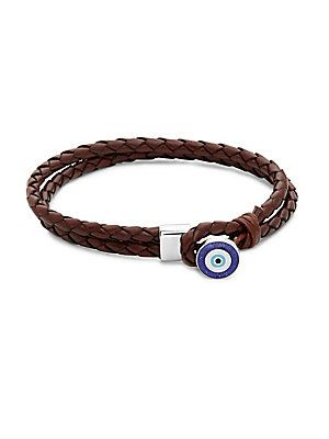 Tateossian Mens Braided Rose Gold-Plated Bracelet WUIq1vW